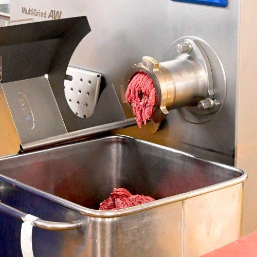 Mincing machines at Midland Foods